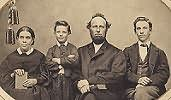 The White family in 1865